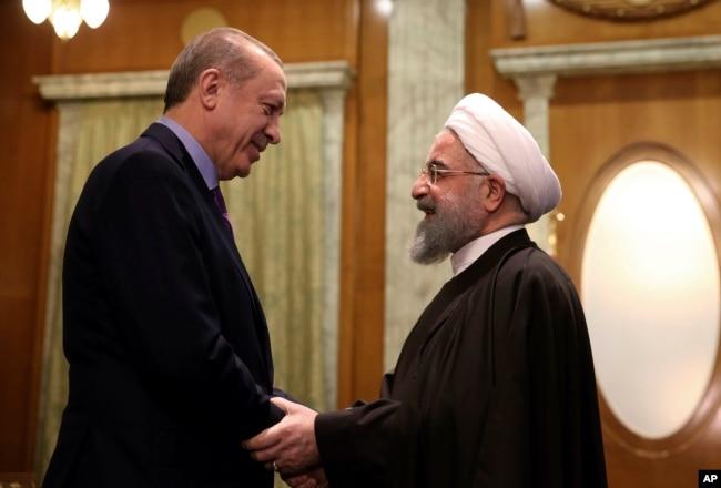 Cumhurbaşkanı Erdoğan ve İran Devlet Başkanı Hasan Ruhani