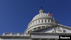 Kubah Gedung Capitol di Washington, DC (Foto: dok).