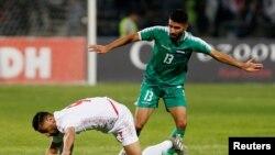 بازی روز پنجشنبه در عراق برگزار شد.