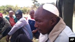 Ogiek land rights activists James Rana, recovering from wounds suffered in a recent attack on his home. Activists say it was an assassination attempt