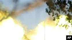 以军1月从边界地区炮轰加沙