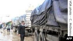 Ai Cập yêu cầu xe chở hàng tới Gaza phải đi tuyến đường xa hơn