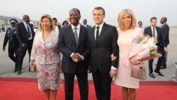 Macron ka, taama Bouake