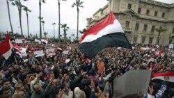تظاهرات مردم اسکندریه علیه حسنی مبارک دیکتاتور پیشین مصر - فوریه 2011