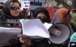 مظاهره کنندگان در کابل خواهان خروج فوری نیرو های امریکایی از افغانستان شدند