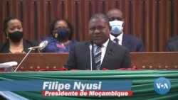 Presidente moçambicano Filipe Nyusi fala à nação sobre o terrorismo
