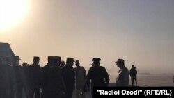 На совместных военных учениях ВС России, Таджикистана и Узбекистана на афганской границе. Архивное фото