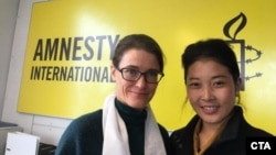 Ms.Trine Christensen, General Secretary of Amnesty International, Denmark