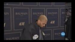 Chris Brown preso em Paris