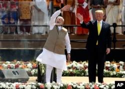 Tổng thống Mỹ thăm Ấn Độ hồi tháng 2/2020