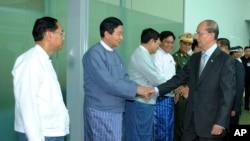 緬甸總統登盛星期日離開仰光﹐對英國和法國進行四天訪問。