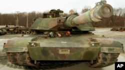 Американський танк M-1A1 Abrams