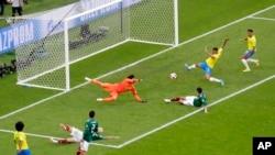 Biraazil akkana tolchitee Meksikoo 2-0 afaan qabsiifte
