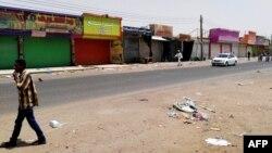 Campagne de désobéissance civile à Khartoum, au Soudan, le 10 juin 2019.