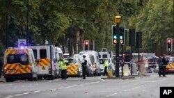 پلیس لندن هنوز این حمله را تروریستی نمی داند