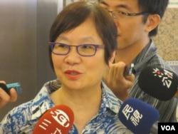 台灣執政黨國民黨立委羅淑蕾(美國之音張永泰拍攝)