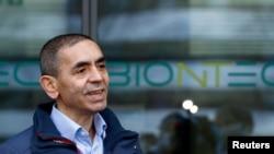 BioNTech firmasının kurucusu ve CEO'su Uğur Şahin.