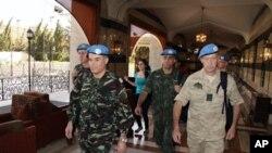 聯合國監督員先遣小組抵達敘利亞。