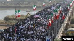 Masu zanga-zanga a Iran