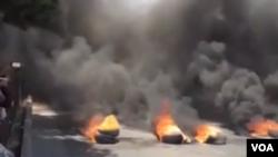 در برخی اعتراضات پولیس ایران با معترضات درگیر شده است