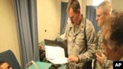 امریکی فورسز کی افغان ڈاکٹروں کو ٹریننگ