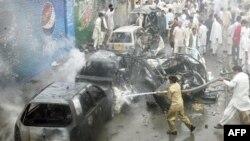 Вибух замінований автомашини біля мечеті у Кветті