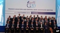 Sastanak ministara finansija G20 u Turskoj (septembar 2015.)