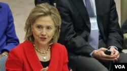 Menteri Luar Negeri Hillary Clinton. (Foto: Dokumentasi)