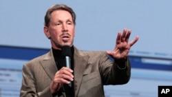 Λάρι Έλισον, επικεφαλής της εταιρείας πληροφορικής Oracle