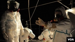 Radnici u reaktoru Fukushima