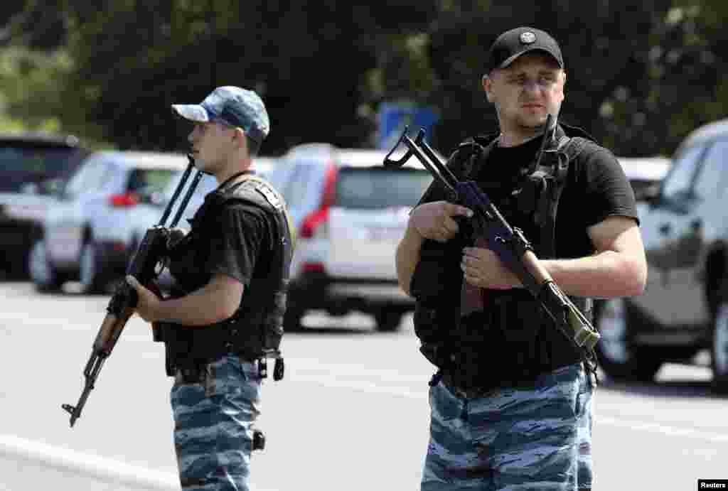 Сепаратисти у Шахтарську.