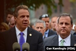 New York ve New Jersey valileri, Andrew Cuomo ve Chris Christie