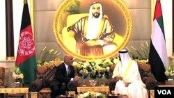 ولسمشر محمد اشرف غني او د متحده عربي اماراتو مشر