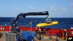 美国微型无人潜水艇完成了最后一次搜寻失踪马航MH370客机的使命(资料照片)