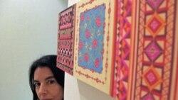 برگزاری نمایشگاه نقاشی به نام «شکستن دیوارجدائی افکن اسرائیل» درشهر واشنگتن