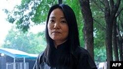 Vợ họa sĩ Ngải Vị Vị, bà Lộ Thanh