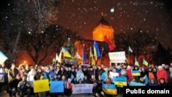 Євромайдан у Вінніпезі (Канада)