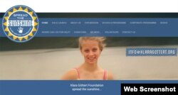The Klara Gottert Foundation website