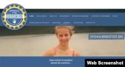 The Klara Gottert Foundation website