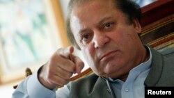 Nawaz Sharif.