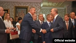 Svečano potpisivanje ugovora o koncesiji za proizvodnju ugljovodonika u podmorju Crne Gore. Autor: Služba za odnose s javnošću