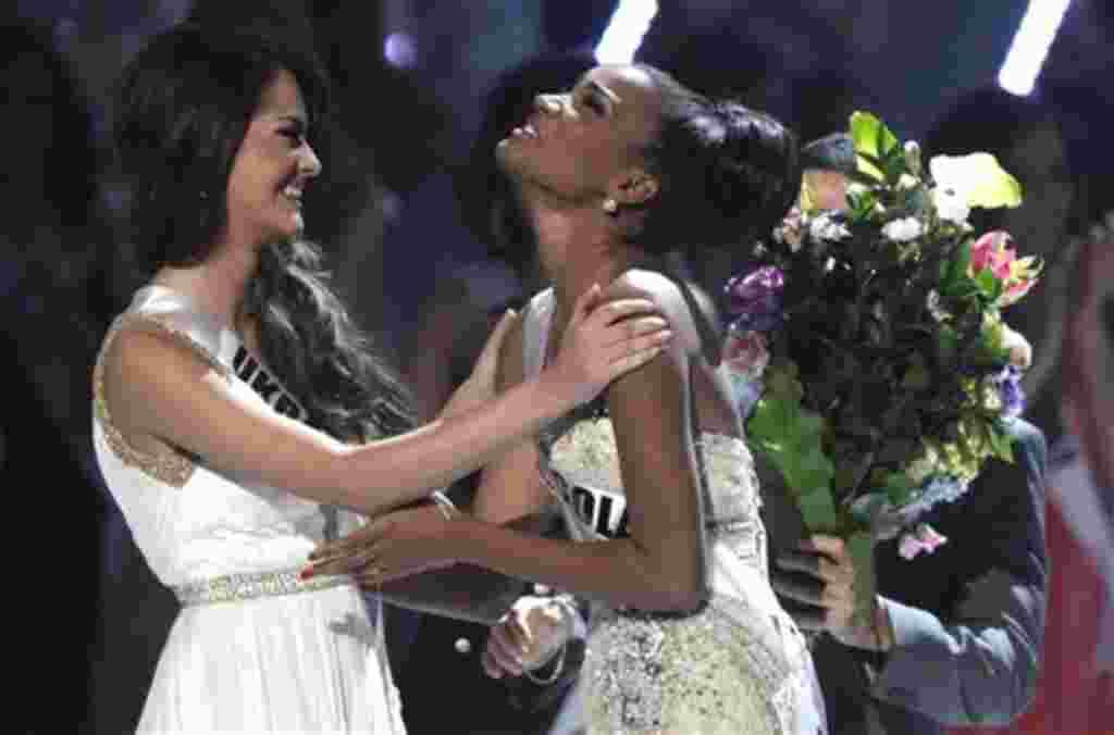 Leila Lopes fue nombrada Miss Universo 2011 venciendo a las otras 88 concursantes.