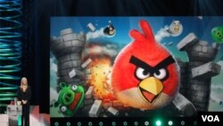 'Angry Birds' merupakan permainan yang paling banyak diunduh di dunia. (Foto: Dok)