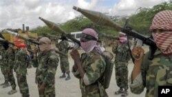 Wanamgambo wa kundi la al-Shabab la nchini Somalia