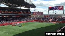Thai vs Germany in Women World Cup 2015