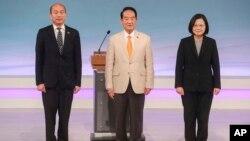 台灣星期天(12月29日)舉行總統大選辯論會。