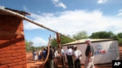 Un programme d'aide de l'USAID permettant la collecte d'eau de pluie pour faire face à la sècheresse