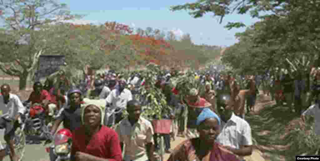 Maandamano kupinga uchimbaji gesi Mtwara