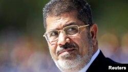 被推翻的埃及总统穆尔西