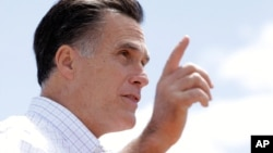 共和党总统候选人罗姆尼